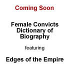 Female Convicts Dictionary of Biography