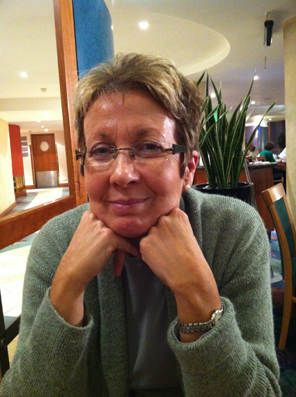 UK volunteer Barbara Samson