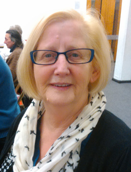 UK volunteer Eileen Ball