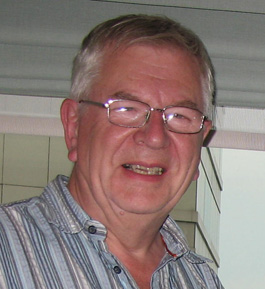 UK volunteer John Waddell