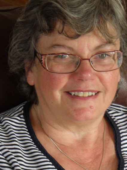 UK volunteer Rosemary Noble