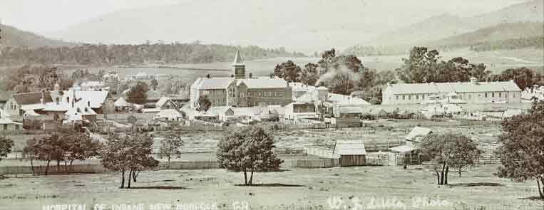 New Norfolk Asylum 1868